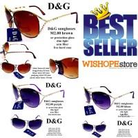 kacamata d & g sunglasses m2.00 fullset