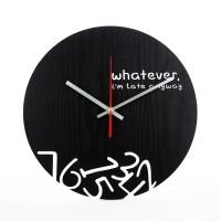 Jam Dinding Unik Dan Artistik - Artistik Layer 1 Black Jakarta