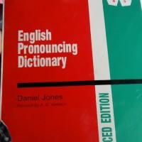 English Pronouncing Dictionary Daniel Jones