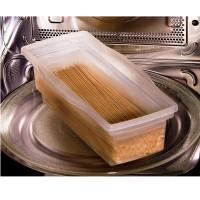 Microwave Pasta Cooker Fasta Pasta / Kotak Pasta - Transparent .