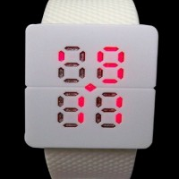LED Watches - AA-W024 - Baby Pink .