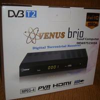 Set Top Box DVB-T2 Venus Brio - Standar SNI - Garansi Resmi 1 Tahun