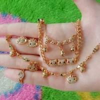 harga paket/set xuping Anak GAX1240(gelang anting kalung cincin)diatas 5thn Tokopedia.com