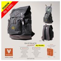 VISVAL RAVE-Tas Ransel / Backpack Keren Trendy Stylish Laris!!