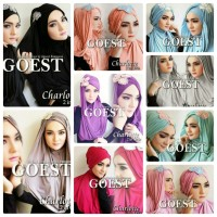 Hijab Jilbab Hoodie Charlotte 2in1