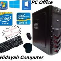 Paket PC Komputer CPU Office core 2 duo