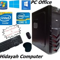 Paket PC Komputer CPU Office core 2 duo