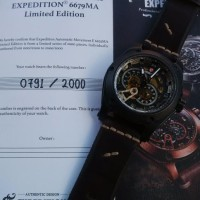 Expedition 6679 Automatic Black (Limited Edition)