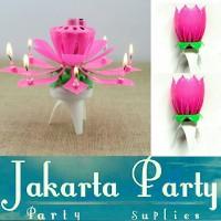 Jual Music Candle / Lilin Lotus / Lilin Bunga Teratai / Lilin Nyanyi Murah