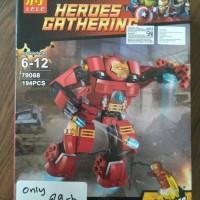 Jual Lego Lele - Iron Man Hulkbuster 79088 Murah