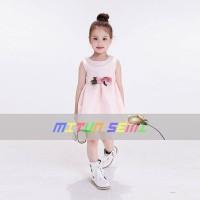 Dress Anak Import - MITUN MT 109 (kisaran umur 2-8 tahun)