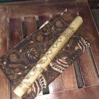 Bansi alat musik tiup tradisional minangkabau