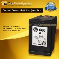 Cartridge HP 680 Black ORIGINAL LOOSEPACK catridge HP 1115 2135 3635