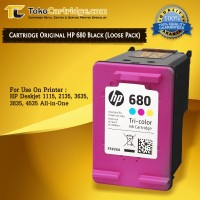 Cartridge HP 680 Color ORIGINAL LOOSEPACK Catridge HP 1115 2135 3635