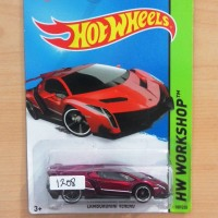 Hot Wheels Lamborghini Veneno Red