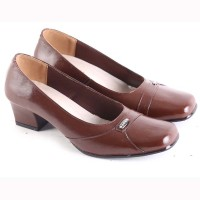 Sepatu Wanita Kulit / Kantor / Sepatu Kerja / Sepatu Formal_--