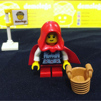 Lego Original Minifigure Grandma Visitor Red Riding Hood
