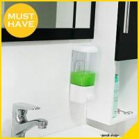 harga Dispenser 1 Tabung Tempat Sabun Cair Shampo Cuci Tangan Mandi (SINGLE) Tokopedia.com