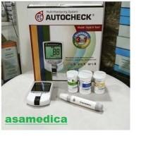Autocheck Alat cek Gula darah, Kolesterol dan Asam urat