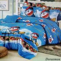 Sprei Romeo ukuran 120 x 200 / No.3 - Doraemon & Friends