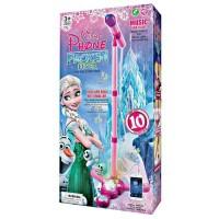 harga microphone anak frozen - standing mic frozen - mainan anak edukasi Tokopedia.com