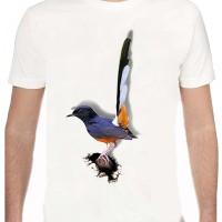 harga Kaos Burung Murai Batu Putih Tokopedia.com