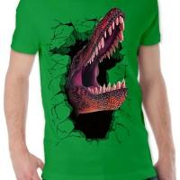 harga Kaos 3d Dinosaurus Elegant Hijau Tua Kuning Merah Maroon Merah Orange Tokopedia.com