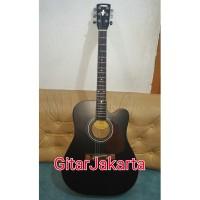 harga Gitar Akustik Elektrik Yamaha F310 Blakcdoff Murah Jakarta Tokopedia.com