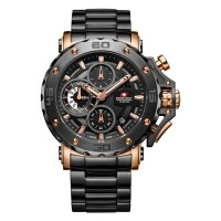 Swiss Navy 8932 Rose Gold Full Set Chronograph