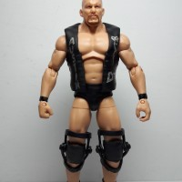 STONE COLD ACTION FIGURE MATTEL WWE ALL STARS LOOSE MAINAN TOY