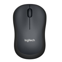 Logitech M221 Silent Wireless Mouse - Charcoal