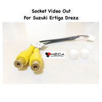 Socket / Soket Kabel Cable Video Out Head Unit Suzuki Ertiga Dreza