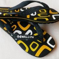 Sandal Jepit - Sendal Jepit Swallow Motif Dewasa