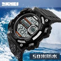 Jam Tangan SKMEI Murah S-Shock Militer Sport Watch Water Resist 50m Or