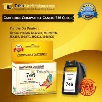 harga Cartridge Recycle Canon CL746 CL 746 CL-746 Color mg2570 mx497 Ip2870 Tokopedia.com