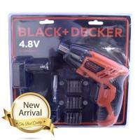 Black + Decker 4.8 Volt Cordless Screwdriver KC4815B1