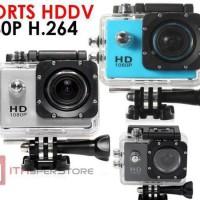 Kamera Sport 12mp Hd 1080 P Anti Air (No Wifi) FREE TONGSIS