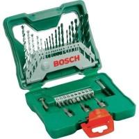 Harga Murah 33 Pcs / Piece Set Mata Bor + Mata Obeng Bosch X-line Baru