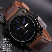 Jam Tangan Pria / Jam Tangan Murah Quiksilver Alfonso Dark Brown Blue
