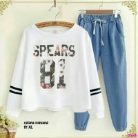 set spears 81-new stelan wanita-fashion-baju stelan remaja-sale-AL