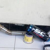 Knalpot Satria Fu Injeksi / Karbu SC Project Karbon