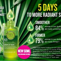 THE BODY SHOP Nutriganics Drops Of Youth 50ml
