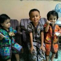 Piyama Batik Anak