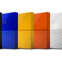 "WD My Passport NEW Model 2TB - HD HDD Hardisk Eksternal External 2.5"""