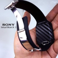 Harga skin sony smartwatch carbon leather wood matte brushedmetal | Hargalu.com