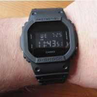 CASIO G-SHOCK DW 5600 FULL BLACK