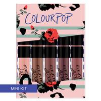 ColourPop On A Whim Ultra Satin Lip Mini Kit Holiday 2016 Limited Ed