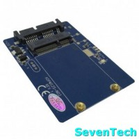 Mini PCI-E MSATA SSD To Micro SATA 16 Pin Adapter Card