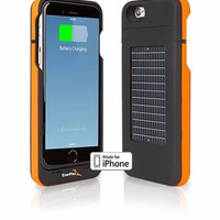 Diskon Enerplex Surfr - Orange Battery & Solar Case For Iphone 6