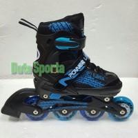 Sepatu Roda Anak Roda Karet murah Powerline 5800 PU (Biru) 655e055fd1